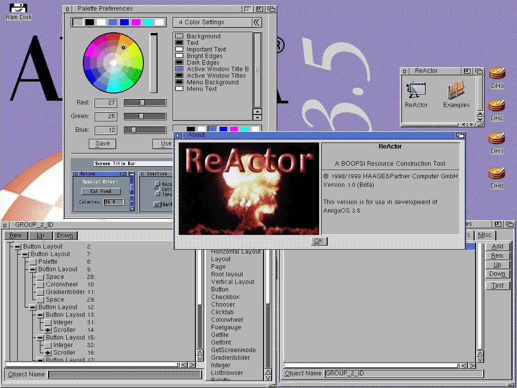 Amiga OS :: multimedia, multi-threaded, multi-tasking ::